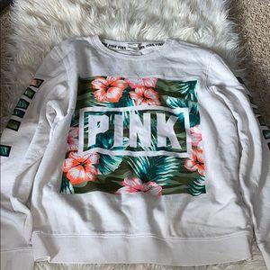 Pink crewneck